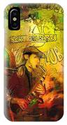 New Orleans Spotted Cat 03 Madness IPhone Case