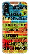 New Orleans Street Art IPhone Case