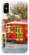 New Orleans Streetcar Paint IPhone Case