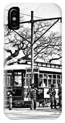 New Orleans Streetcar Silhouette IPhone Case