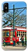 New Orleans Streetcar IPhone Case
