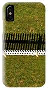 New Perspective Of The Picket Fence IPhone Case