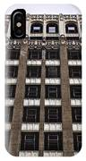 Vacant Downtown Building Los Angeles 3 IPhone Case