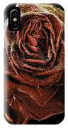 Perfect Gothic Red Rose IPhone Case