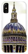 New Photographic Art Print For Sale   Iconic London St Paul's Cathedral IPhone Case