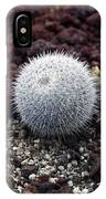 New Photographic Art Print For Sale White Ball Cactus IPhone Case