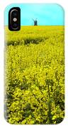 New Photographic Art Print For Sale Yellow English Fields 4 IPhone Case