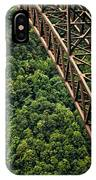 New River Gorge Bridge Steel IPhone Case