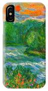 New River Rush IPhone Case