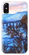 New River Trestle In Fall IPhone Case