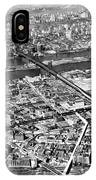 New York 1937 Aerial View  IPhone Case