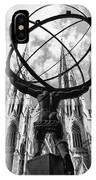 New York - Atlas Statue IPhone Case