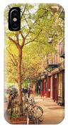 New York City - Autumn In The East Village  IPhone Case