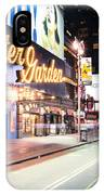 New York City - Broadway Lights And Times Square IPhone Case