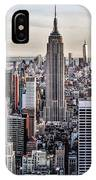 On Top Of The Rock IPhone Case