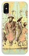 New York City Jews - Fine Art IPhone Case
