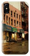 New York City - Rainy Afternoon - Doyers Street IPhone Case
