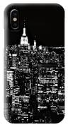 New York City Skyline At Night IPhone Case