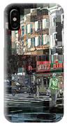 New York City Streets - Ritz Diner IPhone Case