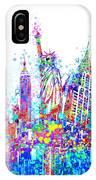 New York City Tribute 3 IPhone Case