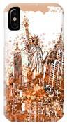 New York City Tribute 4 IPhone Case