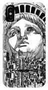 New York City Tribute IPhone Case