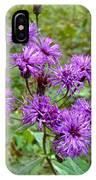 New York Ironweed Wildflower - Vernonia Noveboracensis IPhone Case