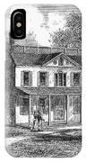 New York: Mansion, 1763 IPhone Case
