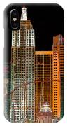 New York-new York Hotel Las Vegas - Pop Art Style IPhone Case