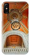 New York Public Library Ornate Ceiling IPhone Case