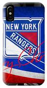 New York Rangers Christmas IPhone Case