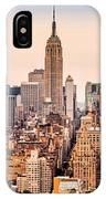 New York Skyline Panorama IPhone Case