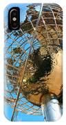 New York Steel Globe IPhone Case