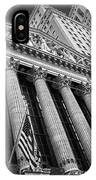 New York Stock Exchange Wall Street Nyse Bw IPhone Case