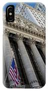New York Stock Exchange Wall Street Nyse  IPhone Case