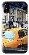 New York Taxi Cabs IPhone Case