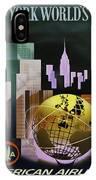 New York Worlds Fair IPhone Case