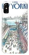 New Yorker April 30th, 1984 IPhone X Case
