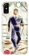 New Yorker April 9 1938 IPhone X Case