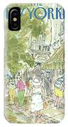 New Yorker August 26th, 1985 IPhone Case