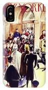 New Yorker December 4 1937 IPhone X Case