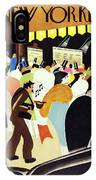 New Yorker February 28 1931 IPhone X Case