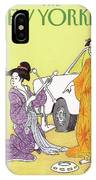 New Yorker February 6th, 1989 IPhone Case