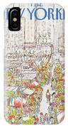 New Yorker July 27th, 1981 IPhone X Case