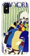 New Yorker June 4 1932 IPhone X Case
