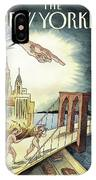 New Yorker March 7, 2005 IPhone X Case