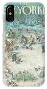 New Yorker May 27th, 1991 IPhone X Case