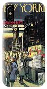 New Yorker November 22nd, 1958 IPhone X Case