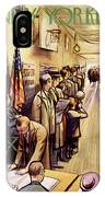 New Yorker November 4th, 1950 IPhone X Case