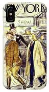 New Yorker November 5 1938 IPhone Case